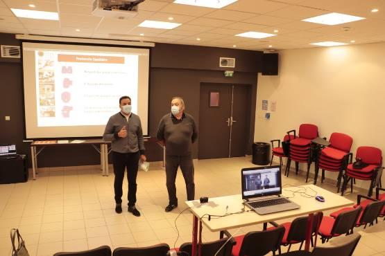 Une journée d'accueil virtuelle des nouveaux venus au CFA de Bains