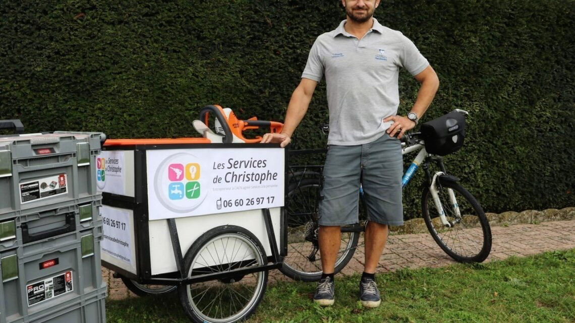 Bricolage à Caen : Christophe lance son entreprise de petits chantiers du quotidien