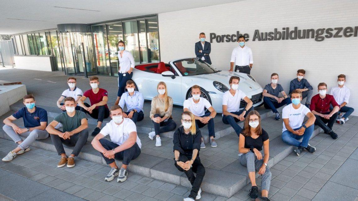 143 apprentis débutent leur carrière chez Porsche – 4Legend.com